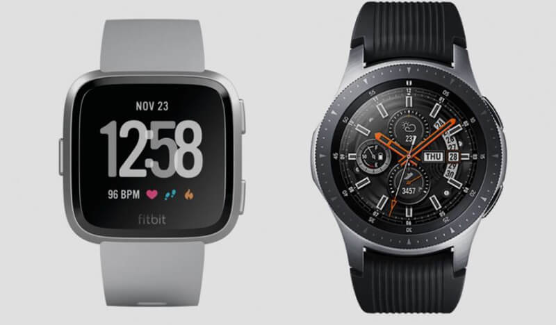 Fitbit Versa vs Samsung Galaxy Watch Smartwatches Comparison In 2020