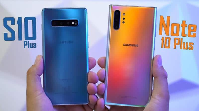 Galaxy Note 10+ vs Galaxy S10+ Comparison - Which Is Better