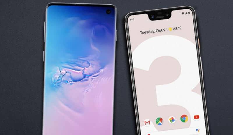 Galaxy S10 vs Pixel 3 Comparison