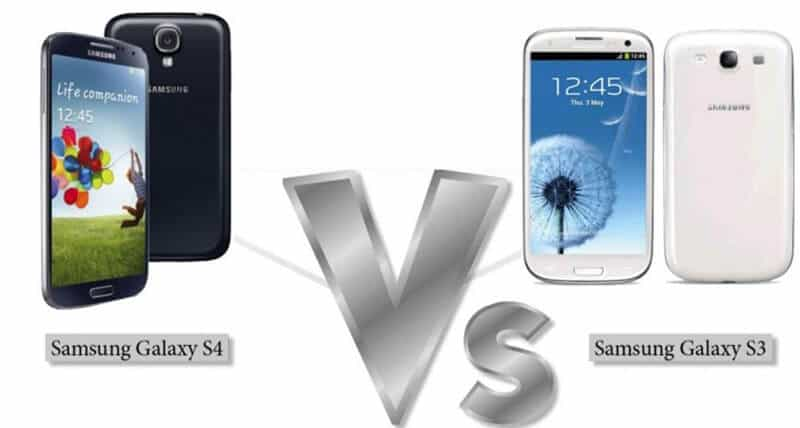 Galaxy S4 vs Galaxy S3 Comparison