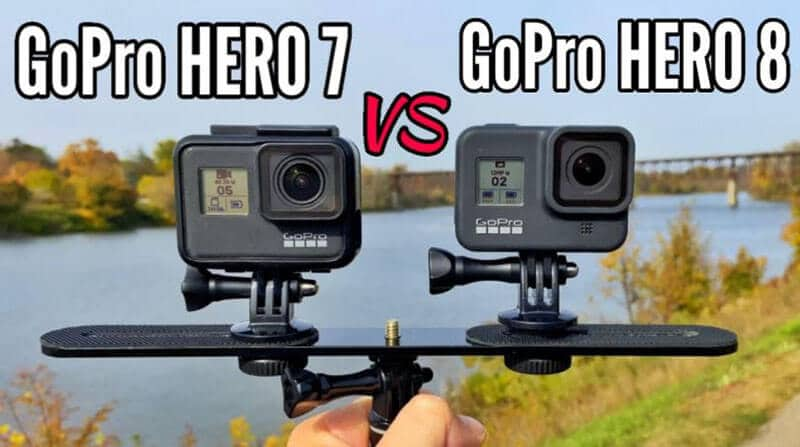 GoPro Hero 7 vs 8