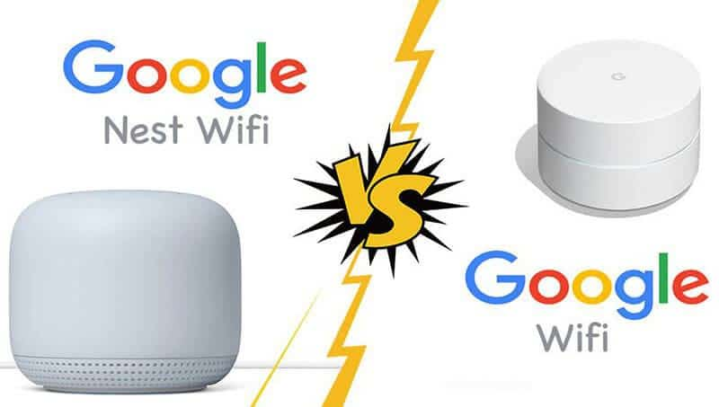 Google Nest Wifi vs Google Wifi