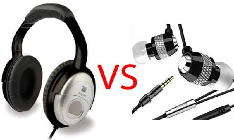 Headphones vs Earbuds - Which Is Better