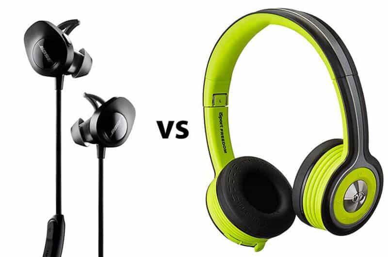 Headphones vs Earphones Differences