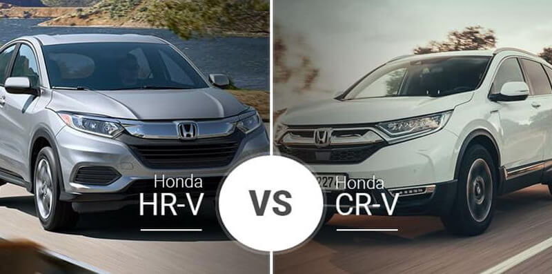 Honda CR-V vs HR-V Comparison