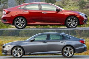 Honda Civic vs Honda Accord