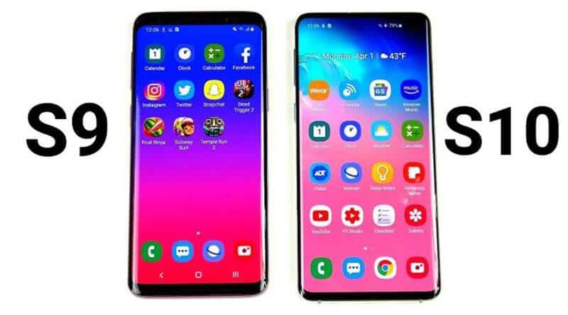 How Are Samsung Galaxy S10 vs S9 Different