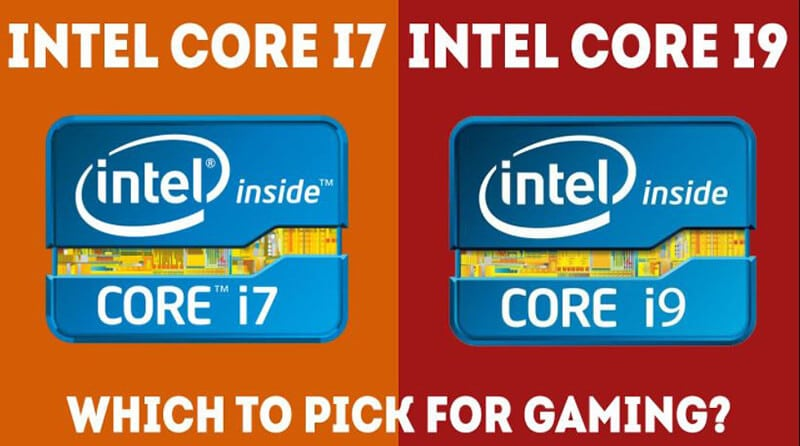 INTEL CORE I7 VS I9 - WHICH SHOULD YOU CHOOSE FOR GAMING