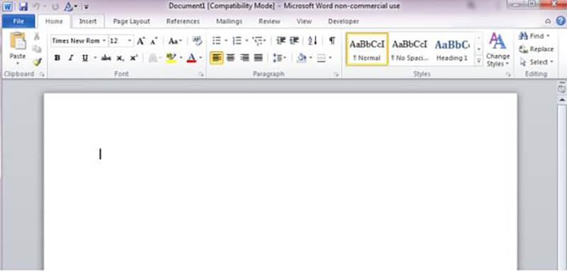 Interface Comparison - Docs vs Word