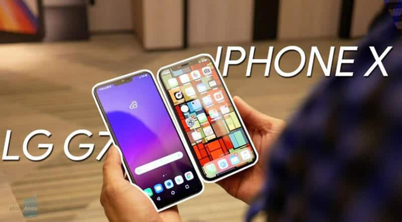 LG G7 ThinQ vs iPhone X - Which Smartphone Wins