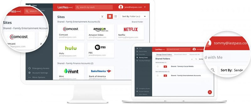 LastPass free vs premium comparison