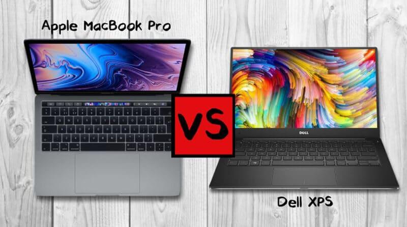 MacBook Pro Vs Dell XPS 13