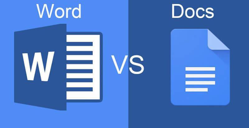 Microsoft Word vs Google Docs Comparison In 2020 [FULL Guide]