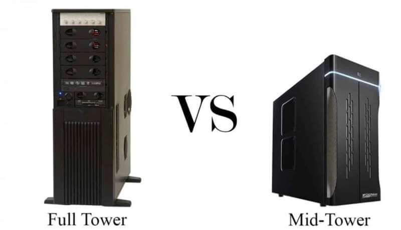 Mid Tower vs Full Tower Differences