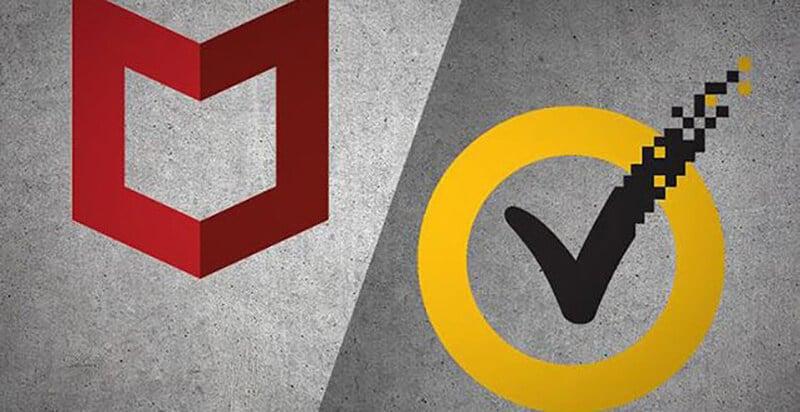 Norton and McAfee Antivirus Comparison