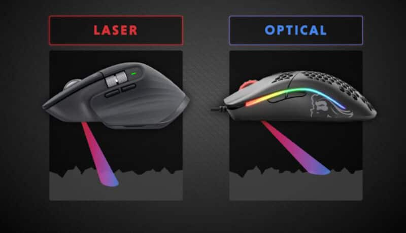 Optical Vs Laser Mouse - Which Gaming Mouse Is Best