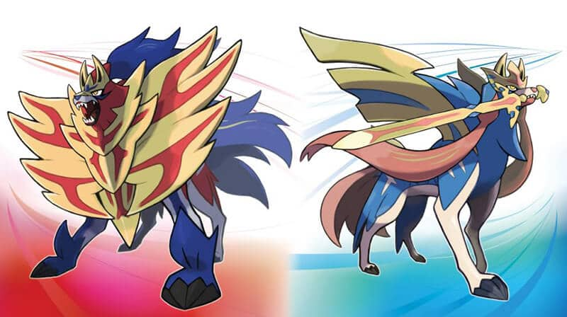 Pokemon Sword And Shield Differences - Zacian and Zamazenta