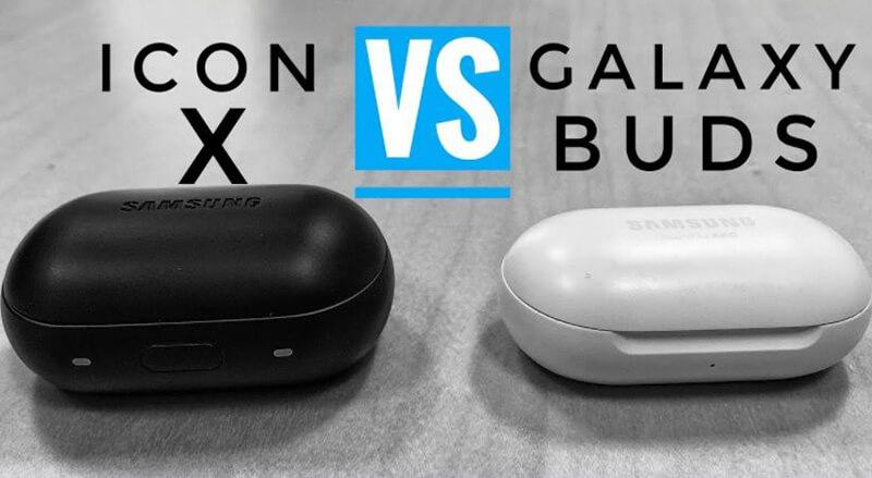 Samsung Galaxy Buds vs Samsung Gear IconX Comparison
