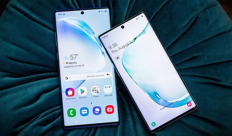 Samsung Galaxy Note 10 vs Note 10 Plus Comparison