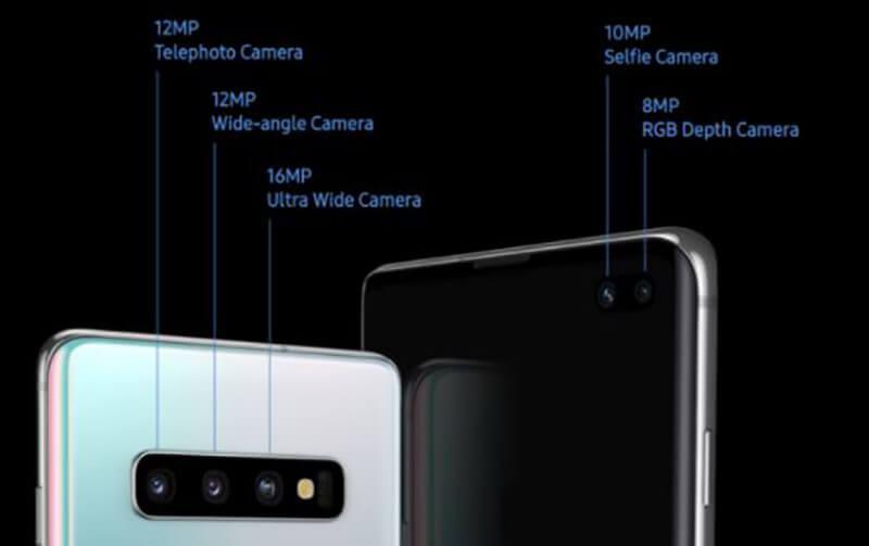 Samsung Galaxy S10 Vs Galaxy S10 Plus Cameras