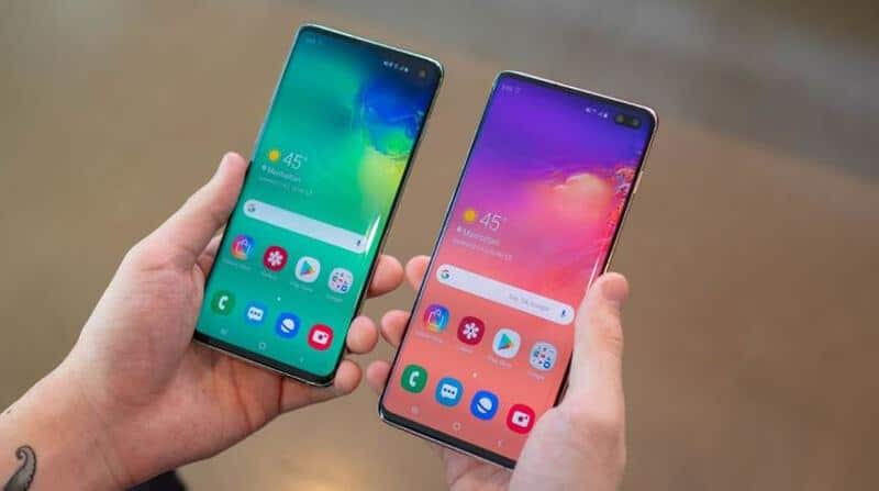 Samsung Galaxy S10 Vs Galaxy S10 Plus Specs