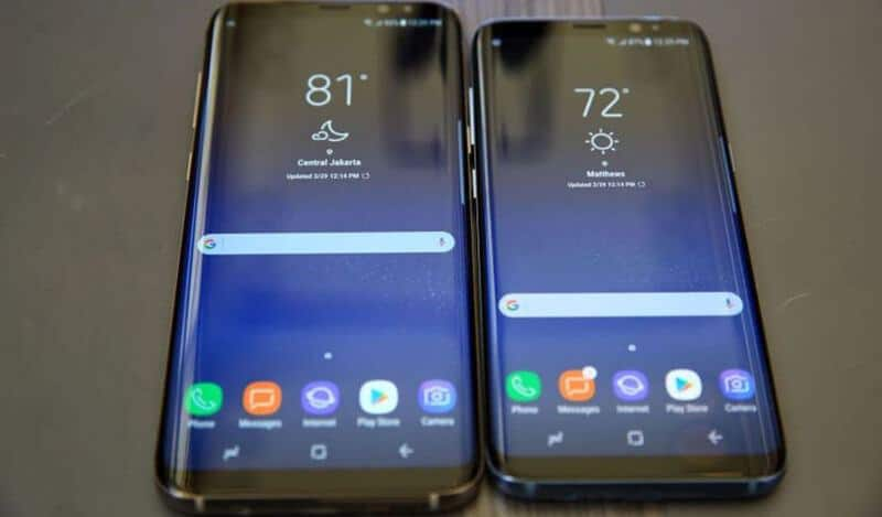 Samsung Galaxy S10 vs Samsung Galaxy S8 Comparison
