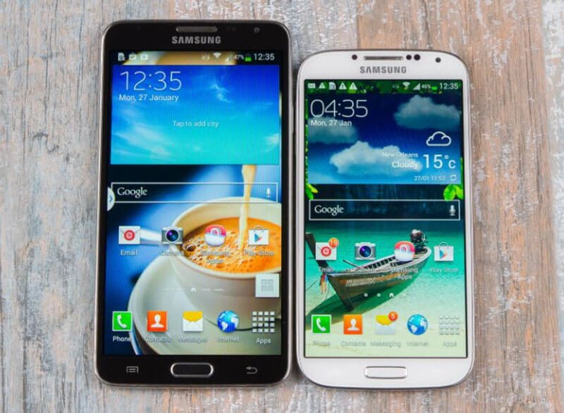 Samsung Galaxy S4 vs Galaxy Note 3 Comparison