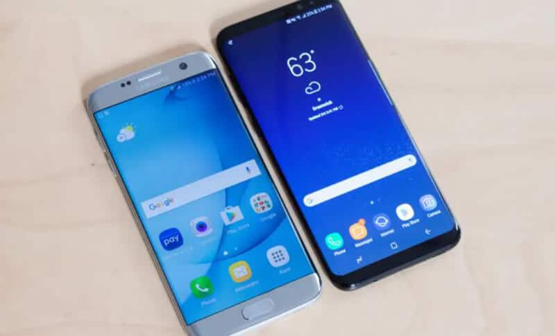 Samsung Galaxy S8 vs Galaxy S7 Comparison