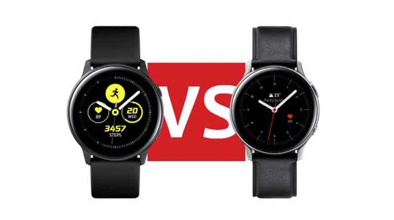 Samsung Galaxy Watch vs Samsung Galaxy Watch Active 2