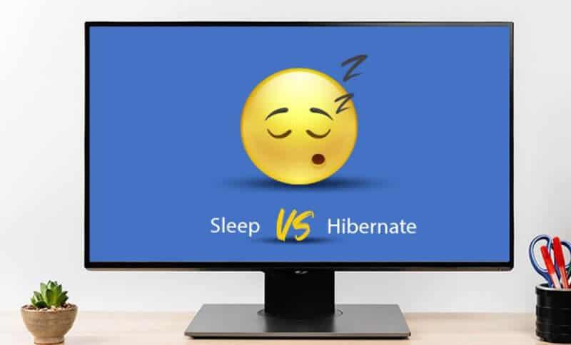 Sleep And Hibernate Difference