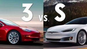 Tesla Model S and Model 3