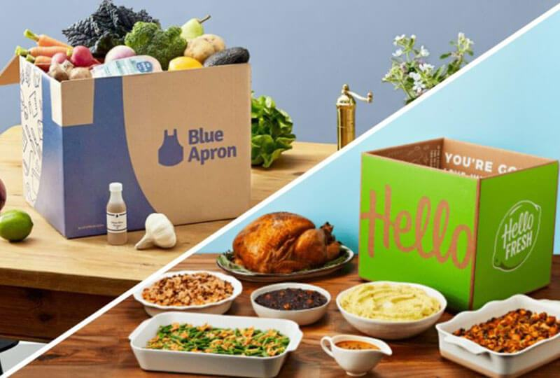 The Differences between Hello Fresh and Blue Apron