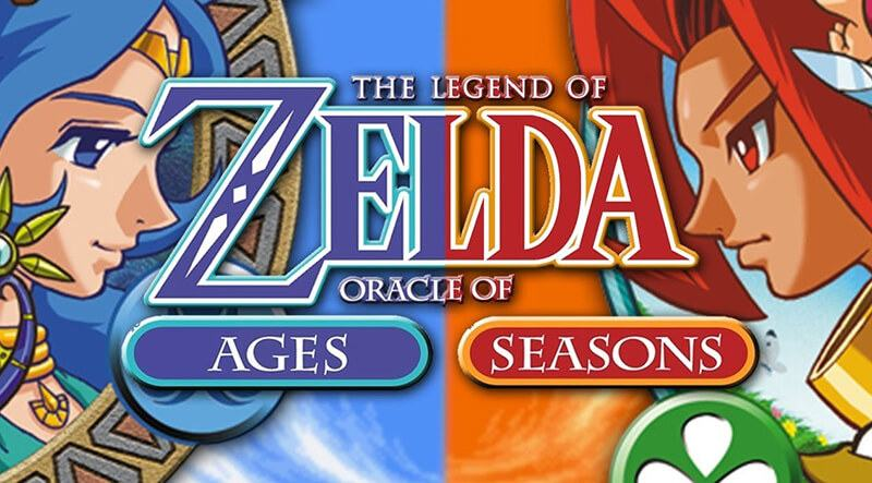 The Legend Of Zelda Oracle Of Seasons And Oracle Of Ages