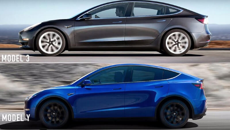 What Is The Difference Between Tesla Model Y vs Tesla Model 3