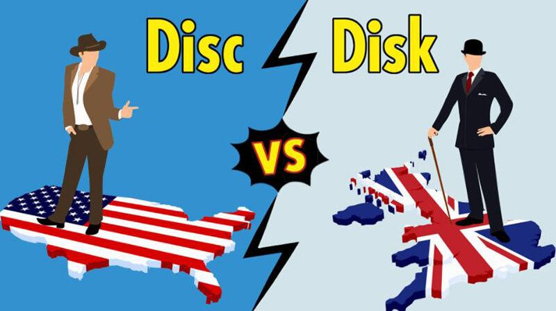 What's the Difference Between Disc Vs Disk