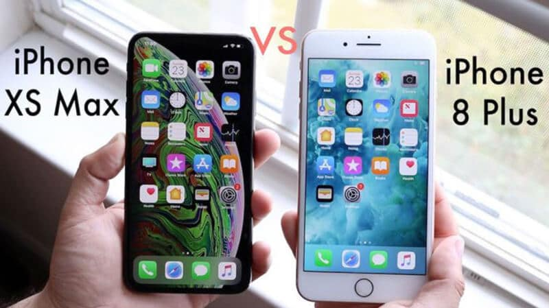 Which Is Better Between iPhone 8 Plus vs iPhone XS Max