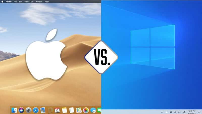 Windows vs Mac OS Comparison