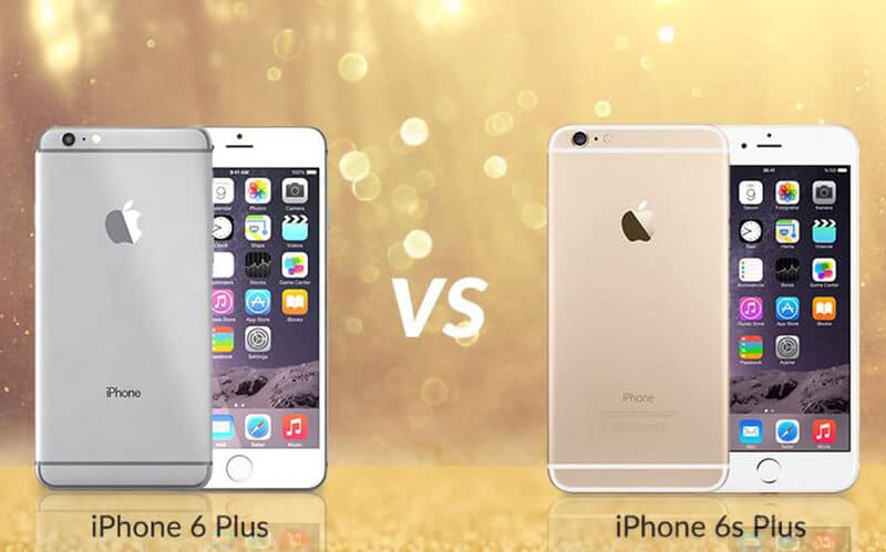 iPhone 6 Plus vs Apple iPhone 6s Plus Comparison