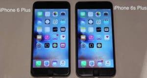 iPhone 6S Plus vs iPhone 6S