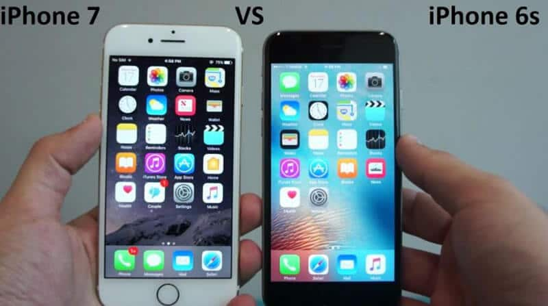 iPhone 7 Vs iPhone 6S Comparison