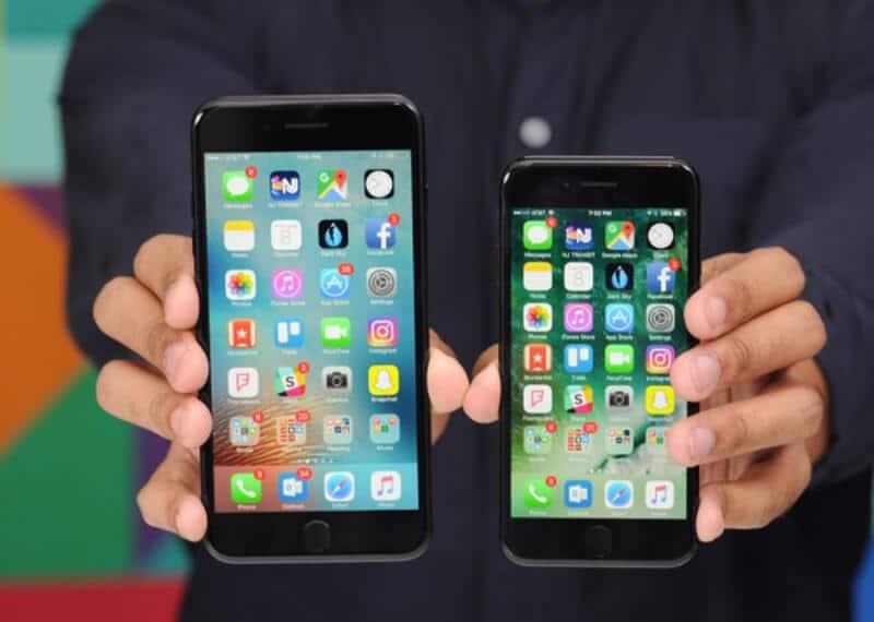iPhone 7 vs iPhone 7 Plus Comparison