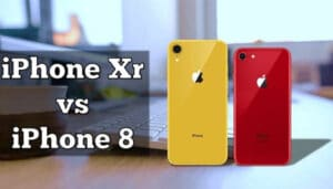 iPhone XR vs iPhone 8