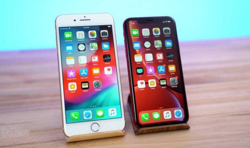 iPhone XR vs iPhone 8 Comparison