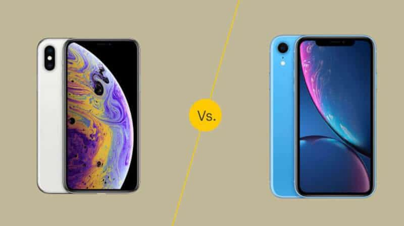 iPhone XS VS iPhone XR Feature