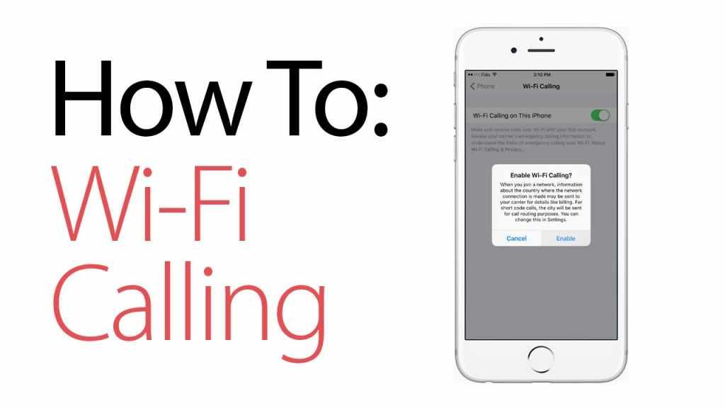 WiFi calling if you use an iOS device